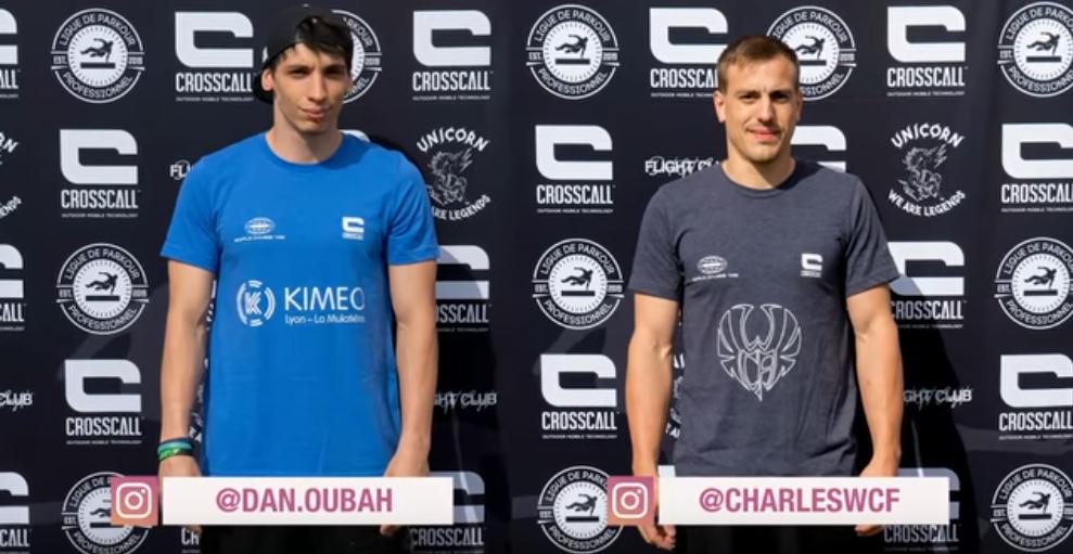 Daniel Ourabah vs Charles Brunet
